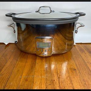 All-Clad 7qt Slow Cooker w Aluminum Cast Insert